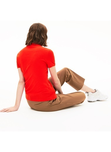 Lacoste Kadın  Tişört PF5462.S5H Kırmızı
